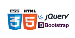 html css javascript jquery bootstrap